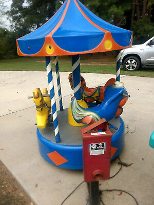 Carousel Coin Operated Kiddie Ride