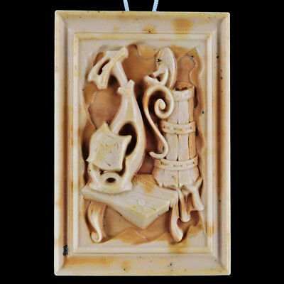 Carved Beer Abdtraction Bead EA510002