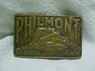 1964-65 Boston Expedition Leader's Official Philmont Brass Belt Buckle