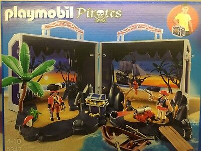 Playmobil 5347 Piratenkoffer neu ovp