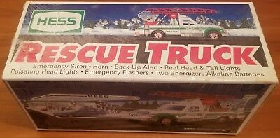 1994 Hess Rescue Truck - Exceptional Condition - SEALED IN ORIGINAL PACKAGING