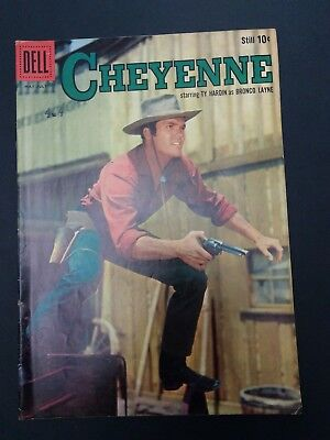 Cheyenne #11 Dell Comics 1959  Western Tv Photo Cover Ty Harding