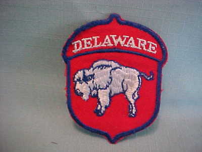 WW 2  or EARLIER STATE OF DELEWARE NATIONAL GUARD PATCH