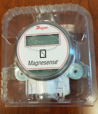 DWYER MS 311 LCD Magnesense Digital Pressure Transmitter Gauge Meter MS-311-LCD
