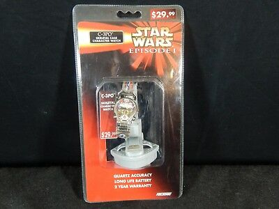 Star Wars Episode 1 C-3Po Skeletal Character Watch (New)
