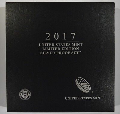 2017 United States Mint Limited Edition Silver Proof Set 17RC
