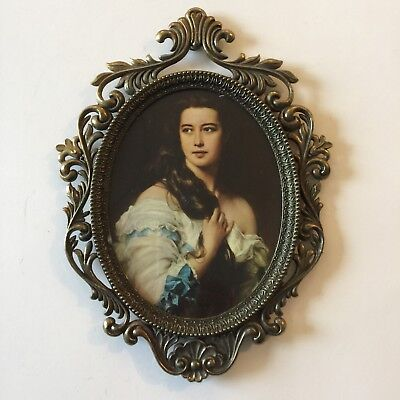 7x5 inch Oval Picture Frame made in Italy