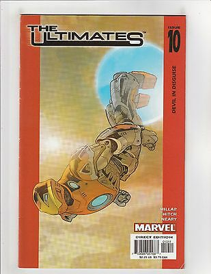 The Ultimates (2002) #10 VF- 7.5 Marvel Comics Avengers