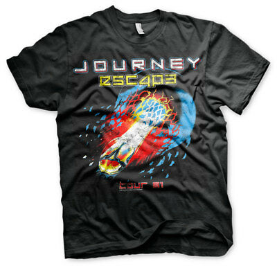 Official Licensed Journey Escape Tour - 81 Men's T-Shirt S-XXL (Black)