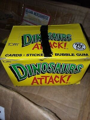 Topps Dinosaurs Attack Cards Set Box Unopened Packs
