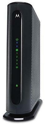 MOTOROLA 8x4 343 Mbps DOCSIS 3.0 N300 Cable Modem with Wi-Fi Gigabit Router,