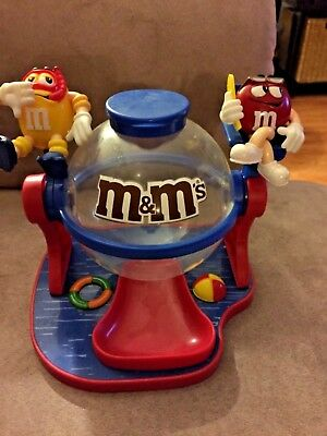 M&m Mars Make A Splash Limited Edition Collectible Chocolate Candy Dispenser