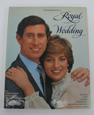 Invitation To A Royal Wedding by Kathryn Spink Colour Library Books 1981 HB