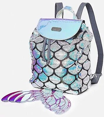 NWT Justice Mermaid MINI Backpack / Rucksack!  So Cute!