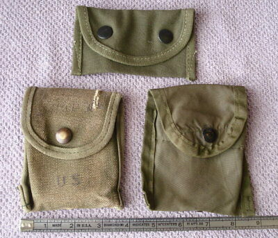 Vtg Army Military Alice Clip Ammo Cartridge Belt Pouches Camping Hunting Hiking