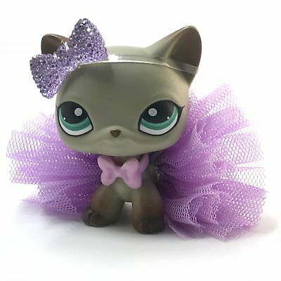 Littlest Pet Shop Clothes LPS Accessories Custom Bow  SKIRT *CAT NOT INCLUDED*