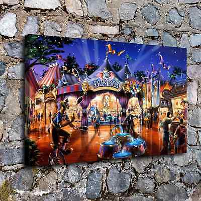 """A Circus 16""""x26"""" HD Canvas prints Painting Home Decor Picture Wall art Poster"""