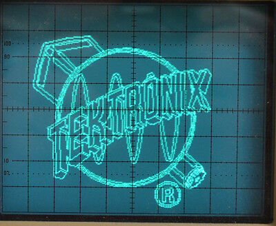 TEKTRONIX LOGO AND Wizard Demo Generator for Oscilloscope with Table Tennis