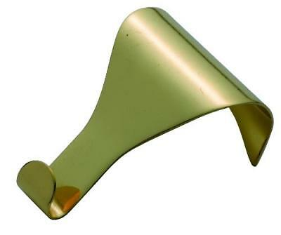 plain polished brass picture rail hook.TH1550