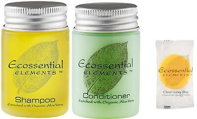 Ecossential Shampoo/ Conditioner / Soap Guest Amenities / Air B&b 30 Ml Pack 45