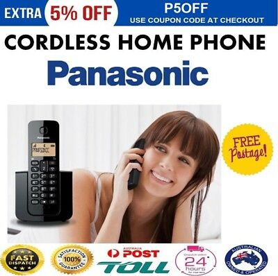 PANASONIC Cordless Phone Handset Caller ID Telephone Home Office Portable