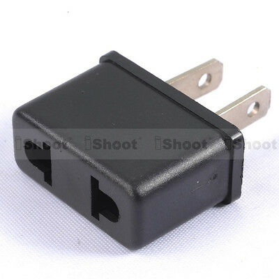 AU Australia EU Europe to US USA America AC Power Plug Adapter Travel Adaptor