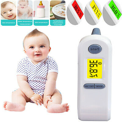 Baby Thermometer IR Radiant Ear Forehead Fever Temperature Baby Child & Adults