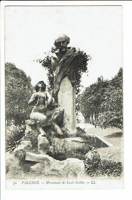 CPA - Carte postale-France - Valence - Monument de Louis Gallet  S 2321