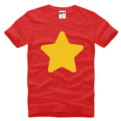 STEVEN UNIVERSE T-Shirt Star Mens Printing T Shirt Personalized Cosplay top tee