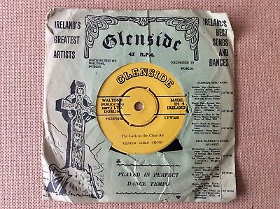 "Ulster Girls Choir, The Lark in the Clear Air,  Irish 7"", Glenside EPW289"
