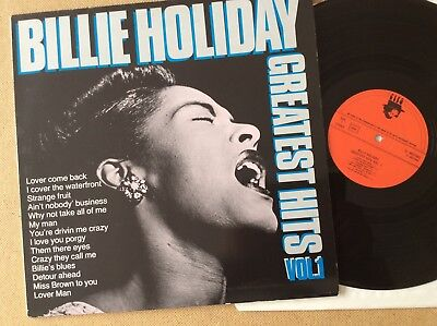 Billie Holiday, Greatest Hits Vol. 1, Netherlands LP, Cleo ‎– CL 0027683