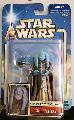 Star Wars Actionfigur - Orn Free Taa -  Attack of the Clones