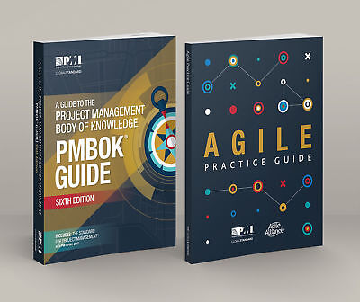 PMI PMBOK Guide 6th Edition 2018 + Agile Practice Guide ([PDF] Email Deivery)