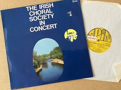 The Irish Choral Society In Concert,1968 U.K LP, Spin Records RGS 3008