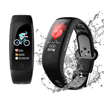 Bluetooth Fitnessuhr Fitness Tracker Smart Armbanduhr Smartwatch Pulsmesser IP67