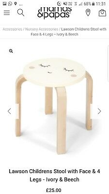 Brand New Mamas & Papas Children's Stool