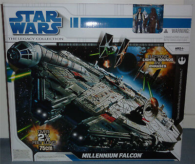 Star Wars 2008 Millennium Falcon Misb Legacy Collection Selten Neu & Ovp Sealed