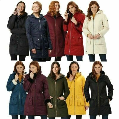 Regatta Ladies Romina Waterproof Insulated Parka Jacket Rwp260