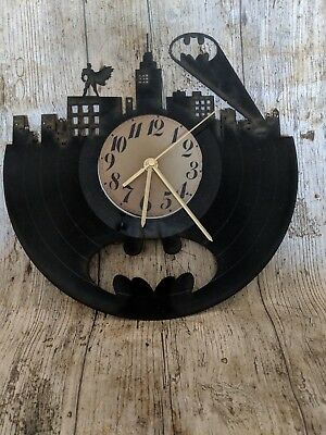Batman 1 Vinyl Record Clock home decor gift