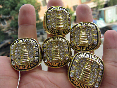 5pcs 1956 1957 1958 1959 1960 Montreal Canadiens Stanley Cup Championship Ring
