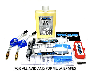 TBS Brake Bleed Kit for Avid Hydraulic Brakes for Juicy Elixir Code R XO XX +