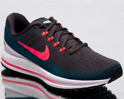 Nike Air Zoom Vomero 13 Men Running Shoes Thunder Grey Hot Punch 922908-008 a92f078d4