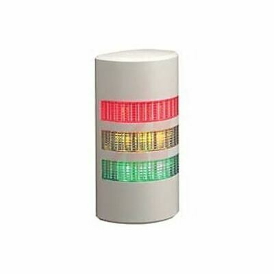 WEP Incandescent Beacon, Amber, Green, Red LED, Steady Light Effect, 24 V ac/dc