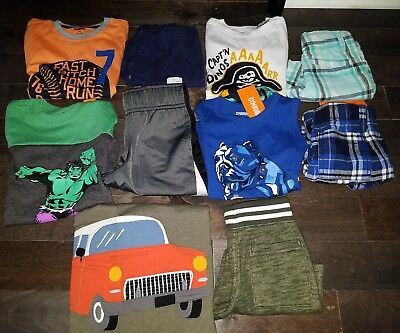 NWT Size 2T Boys Summer Lot of Clothes & Outfits Gymboree dog dino