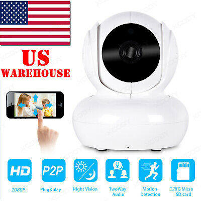 Wireless 1080P Wifi HD IP Camera Security CCTV P2P Home Baby Pet Monitor System