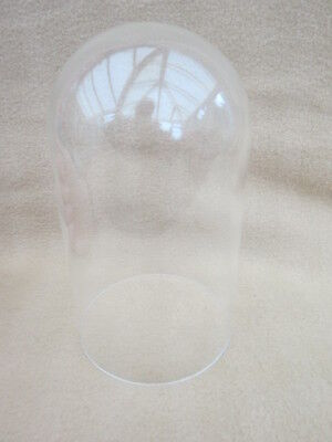 Vintage Perspex Clock Dome 20Cm High 11.8Cm In Diameter.