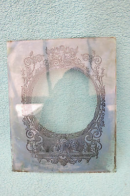 Antique American Glass Door Tablet For Tlc