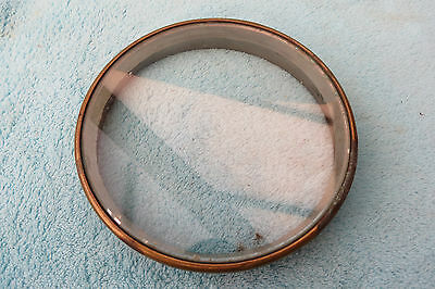 Antique French  Drum Clock Bezel And Glass Lot 9