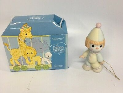 "Precious Moments Birthday Train  ""Bless The Days Of Our Youth"" New NIB"