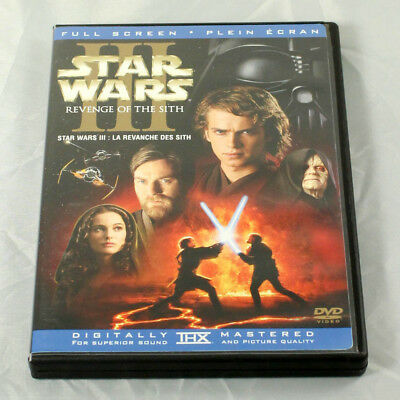 Star Wars Episode III: Revenge of the Sith DVD 2-Disc Set - Canadian / French